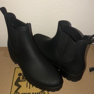 Jeffrey Campbell Cloudy Rain Boots 11